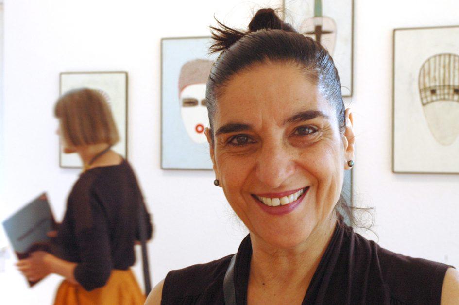 Foto Cholud kassem in der Ausstellung