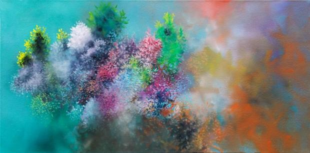 Foto eines Gemäldes