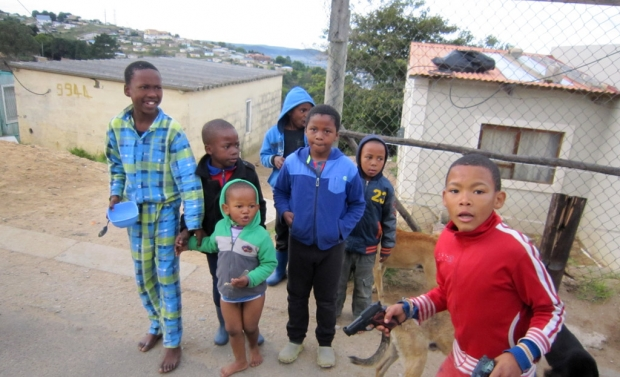 Foto: Kinder in Knysna, Südafrika