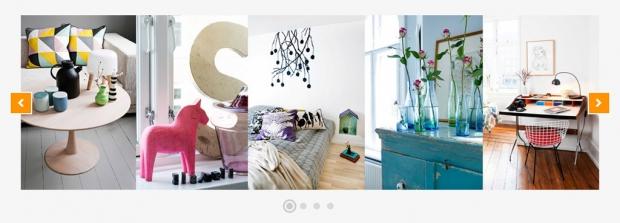 Bildschirmfoto der Website blottner.de