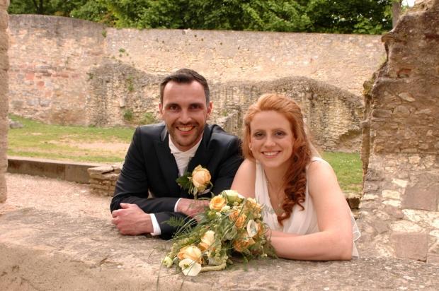 Foto des Brautpaares