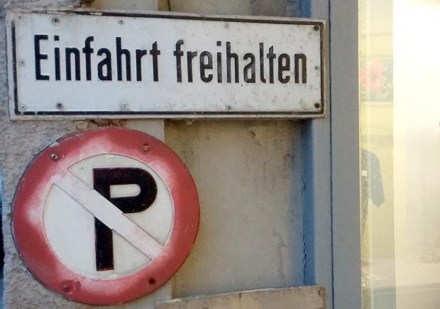 Verkehrsschilder Parkverbot