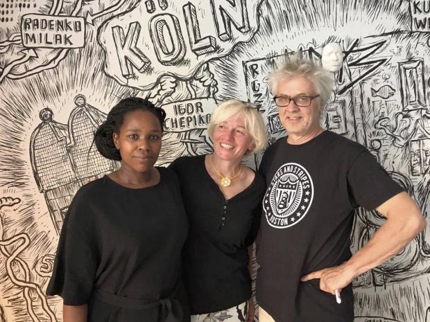 Foto: Monika Dahlberg, Ute Krafft und André Smits