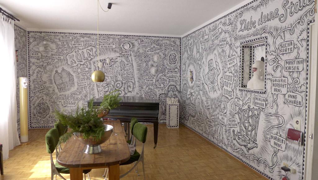 Foto des neugestalteten Wohnzimmers