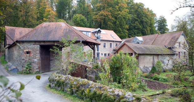 Foto: Waldmühle am Beerbach