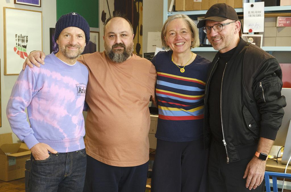 Foto: Shantel, Ata Macias, Ute Krafft und Sven Väth