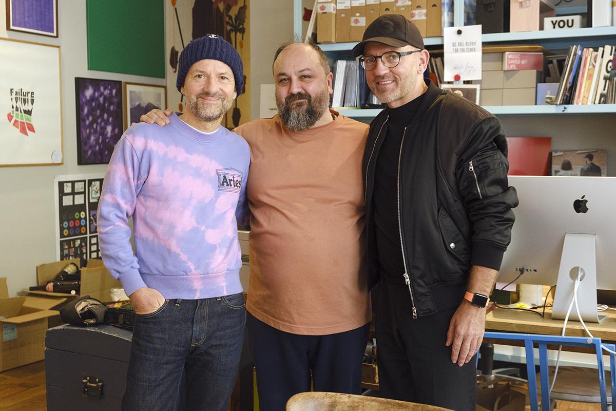 Foto: Shantel, Ata Macias und Sven Väth